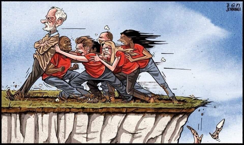 corbyn cliff